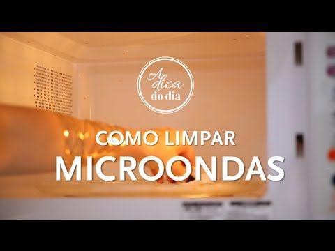microondas limpo em 5 minutos | #aDicadoDia