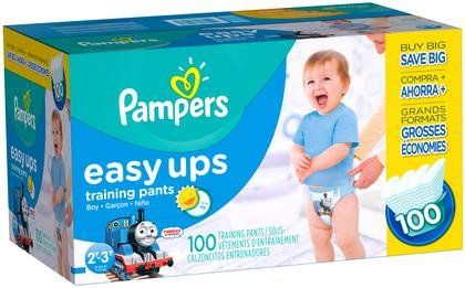 Pampers Easy-Ups Training Pants - Boys