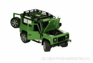 Land Rover Defender Bruder 02590