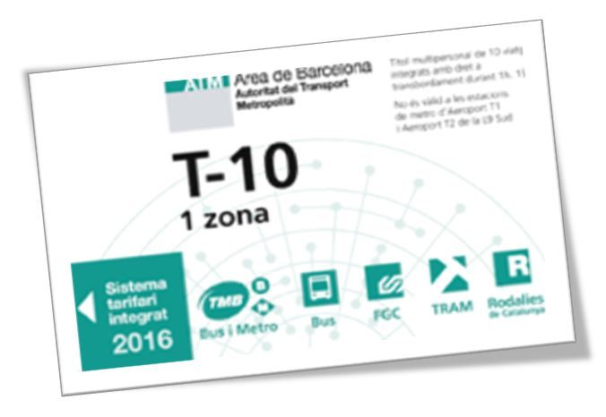 "Public transport Barcelona: how to find the right ticket for your trip✅ TMB Bus✅ Tram, T-10Ticket✅ day pass ""Hola BCN!""✅ actual pricing (2017) ✅"
