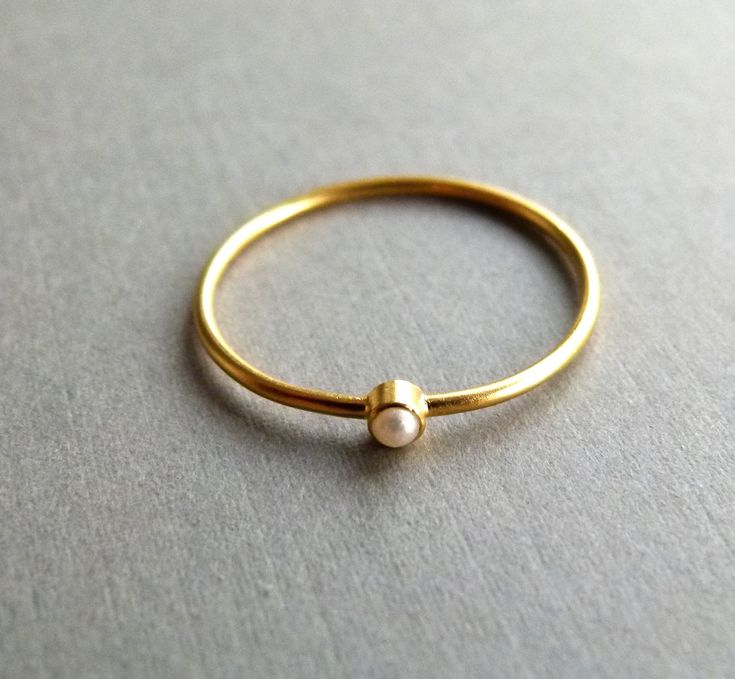 pearl ring.