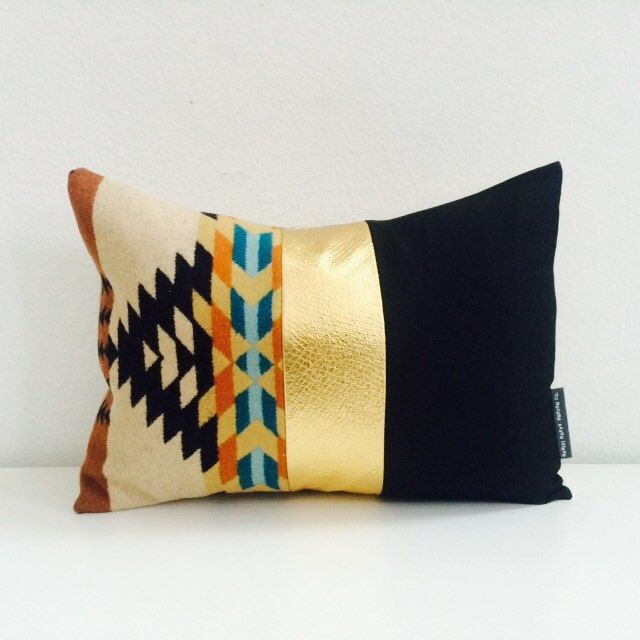 Tribal Aztec Navajo Southwestern style pillow cushion decorative accent home decor.