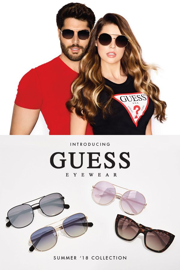 1b5b5fecb31 No Spring look is complete without the perfect pair of Sunglasses.  Introducing the  GUESSEyewear Spring  18 collection.