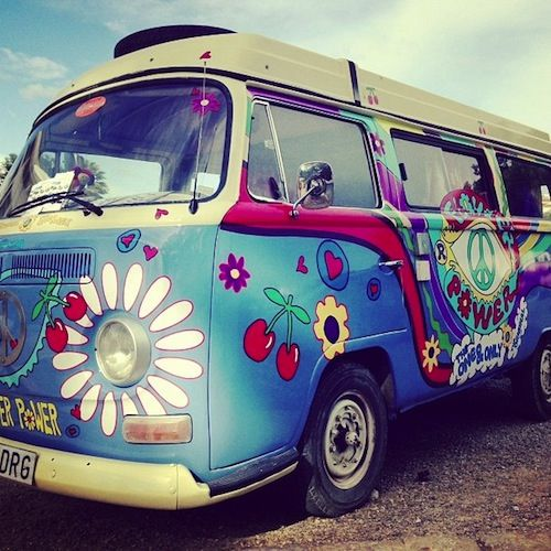 181 Best Images About VW: Painted Bus