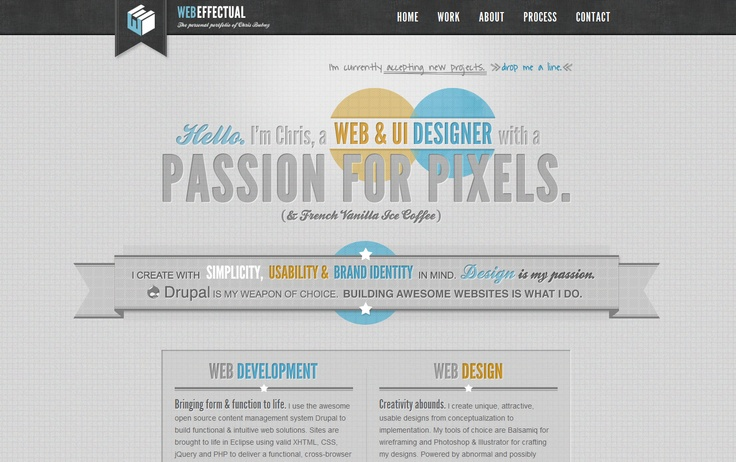 Web Effectual, nice / clean design