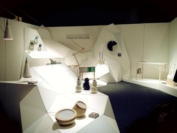 Stand at Stockholm furniture & light fare - BA Productdesign HiOA