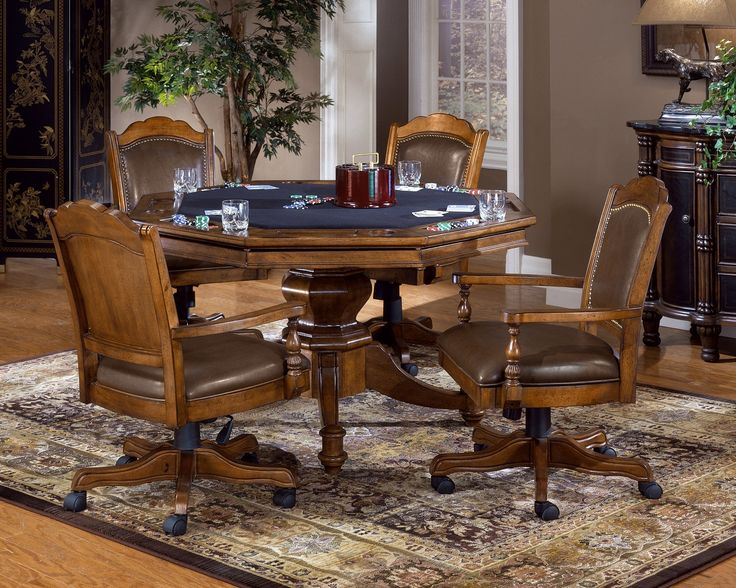 Home Poker Table And Chairs Set