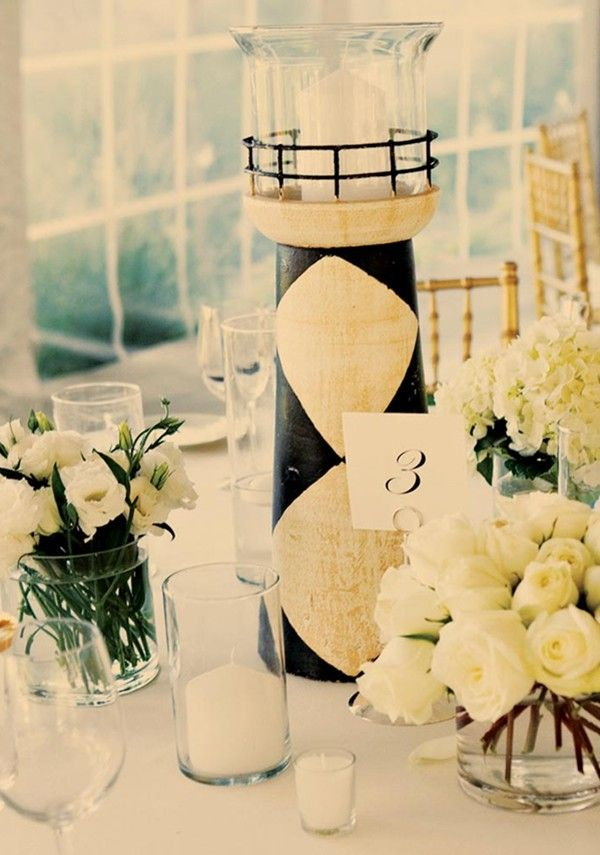 Best images about diy beach wedding centerpiece
