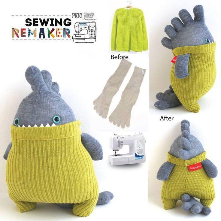 awesome sock monster idea  DIY sock monster toy  | sock