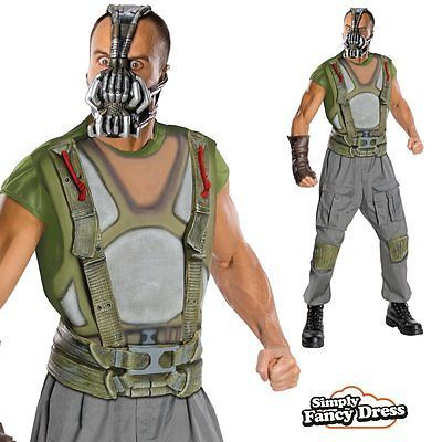 Mens the dark #knight rises #deluxe bane batman fancy dress #costume,  View more on the LINK: 	http://www.zeppy.io/product/gb/2/261335390917/
