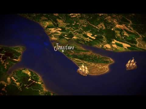 Jamestown video clip from Drive Thru History (2 min) - describes why the settlers chose this location for their colony.