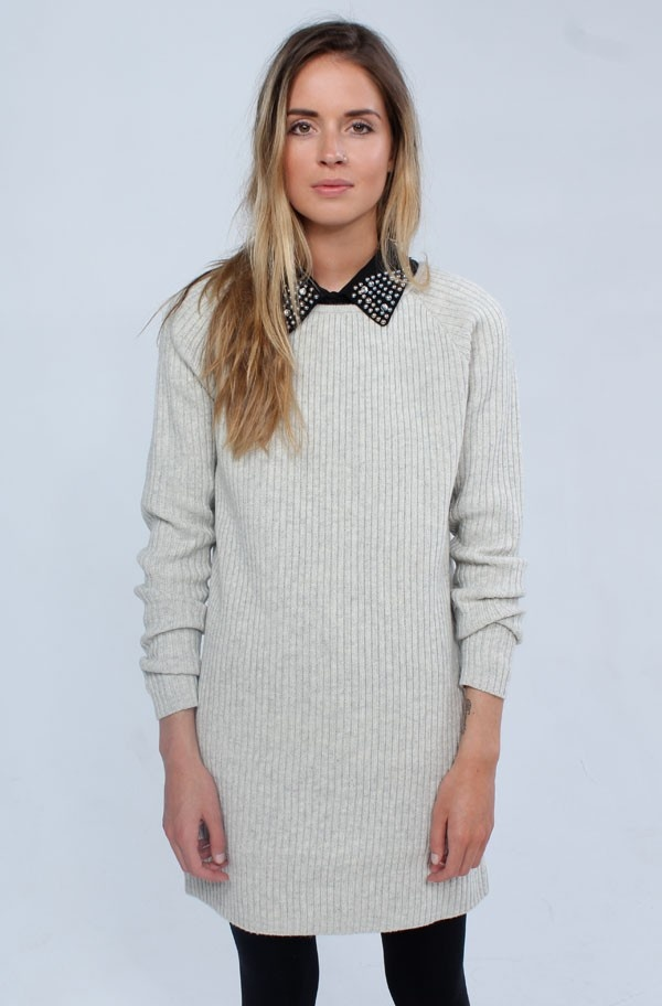Second Female - Celina Long Knit Cream