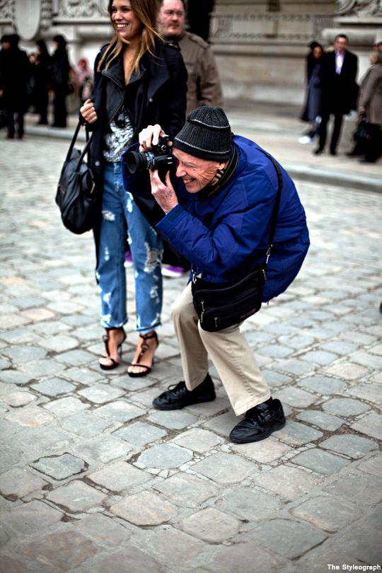 Paris Fashion Street Style Bill Cunningham Photographer
