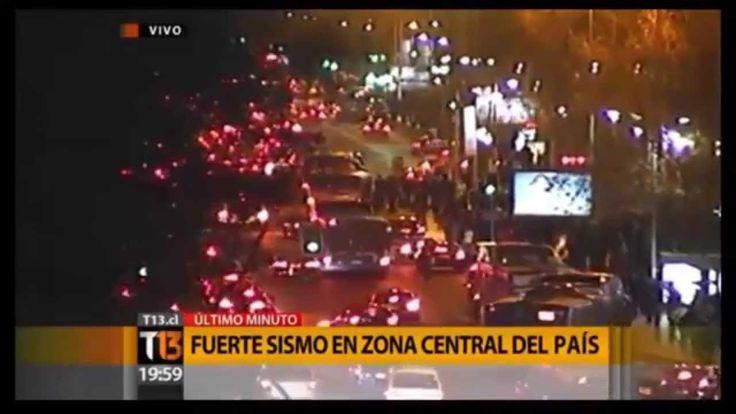 video : recopilación terremoto en chile 2015 HD