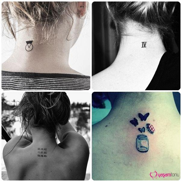 Kadınlar İçin Dövme Modeller ve Bölgeleri #tattoos #dövme