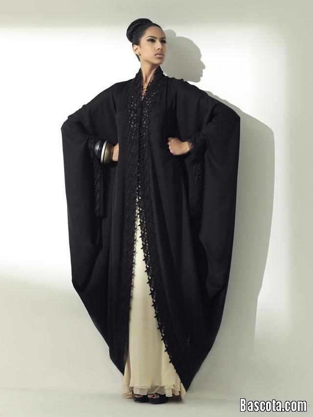 عبايات اماراتية اجمل عبايات دبي عبايات اماراتية اسبوع الموضة 2014
