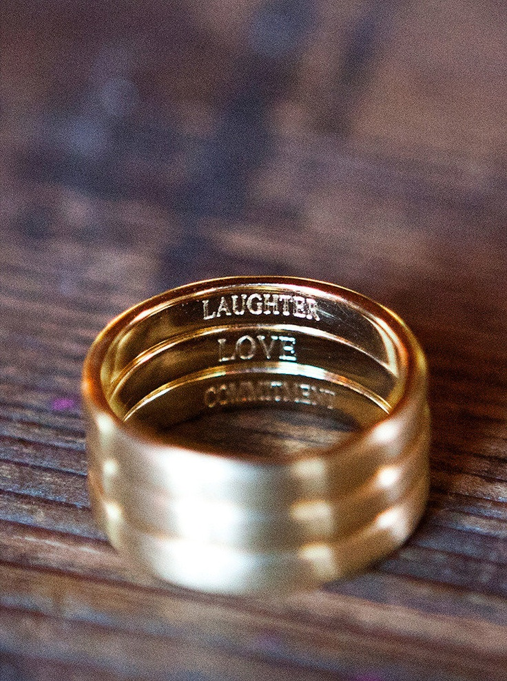Laughter, Love, Commitment ~ Photography by llanesweddings.com