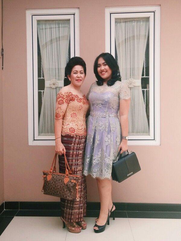 Kebaya #fashion #lace #dress #sarung #kain