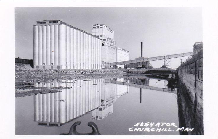 RP: Elevator , CHURCHILL, Manitoba , Canada , 30-40s