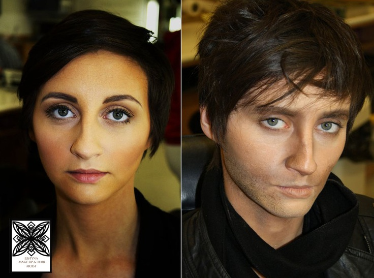 16 Best Female To Male Images On Pinterest  Male Makeup -7521