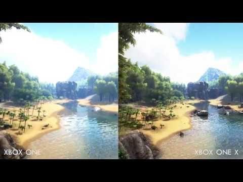 ARK Survival Evolved - XBOX ONE X vs XBOX ONE Graphics