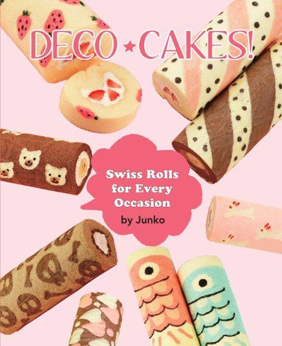 Check out my review of Deco Cakes by Junko - an English translation of a cookbook that shows how to make gorgeously decorated jelly roll cakes with baked in designs.