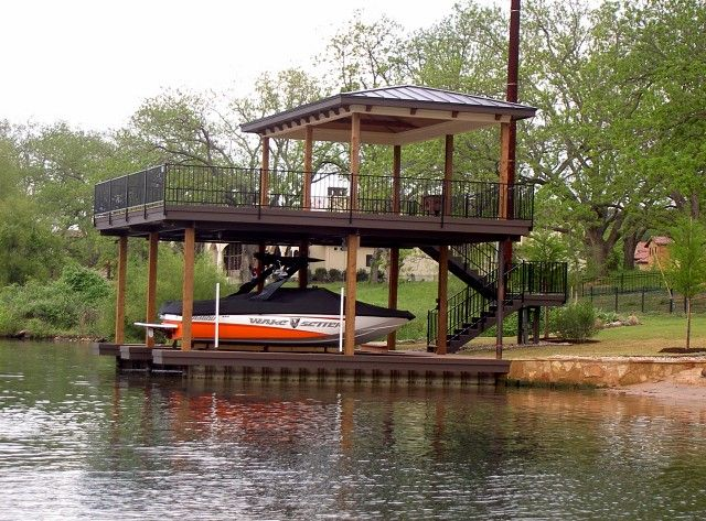 Boat Dock Construction Floating Boat Docks Stationary Boat Docks ...