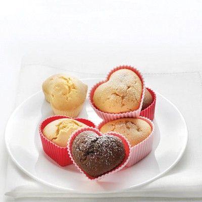 Foremki do muffinek – serca