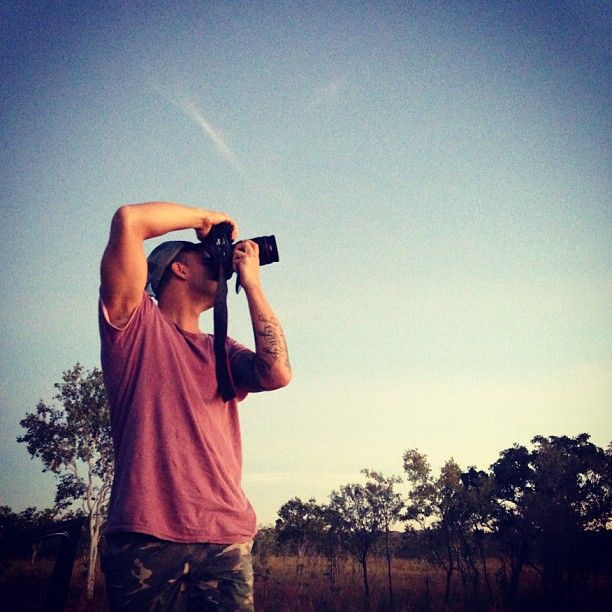My mate timbo shooting me whilst taking in some of the beautiful spots in Kununurra.