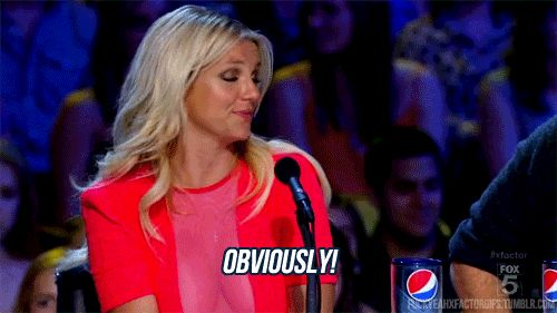 "14. ""Obviously!"" 
