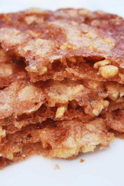 La Cuisine de Bernard: Les Craquants au Caramel et aux Noisettes / depuis le temps que je cherche la recette !