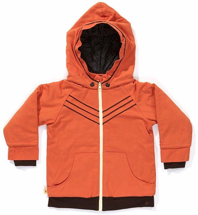 Oranje jas 'Dilip Jacket' - Albababy