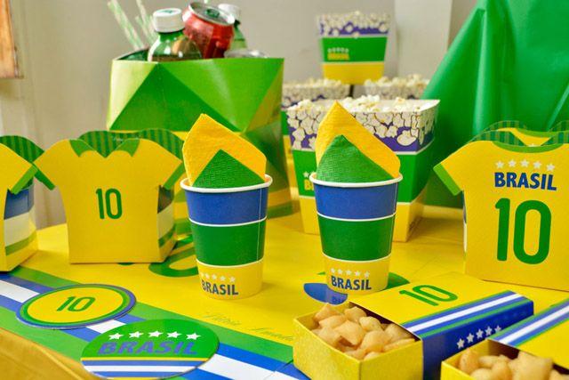 Ideias Para Decoracao Com O Tema Brasil Com Imagens Decoracao