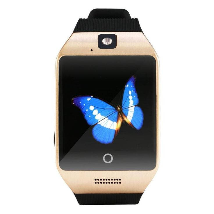 Smart Watch Inkach® Q18S Smart Bluetooth Watch GSM Camera TF Card Wristwatch for iPhone (Gold). Taking pictures: Watch take pictures ; memory storage; picture shows: PNG, JPG; remote control mobile phones;Storage to mobile phones; picture shows: PNG, JPG. Bluetooth transfer information (for android phone): QQ、WeChat、Twitter、Facebook, Timely information etc;. SMS transfer; News, VirtualClient, system Settings information etc; schedule; Synchronous remind; Set time synchronization…