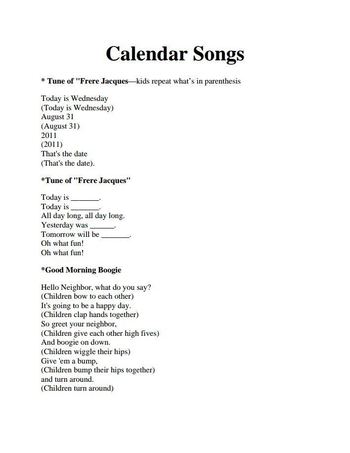 Calendar Songs.pdf