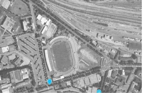 """Vi ricordate dove eravate 25 anni fa? se per caso eravate a Modena in via Monte Kosica ricorderete sicuramente come era lo storico Stadio """"Alberto Braglia""""dove giocava il Modena Calcio grazie a istella per le belle immagini."""