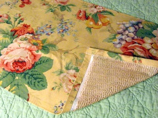 DIY fabric drawer liners, no need to use adhesive, non-permanent, great for antique dresser!