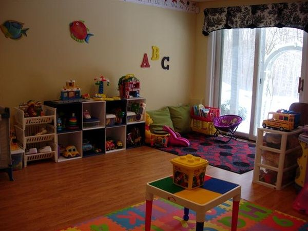 Home Daycare Layout | DAYCARE | Pinterest | Дом, Домашние ясли и ...