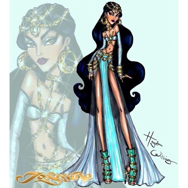 #DisneyDivas 'Fashionista' by Hayden Williams : Jasmine