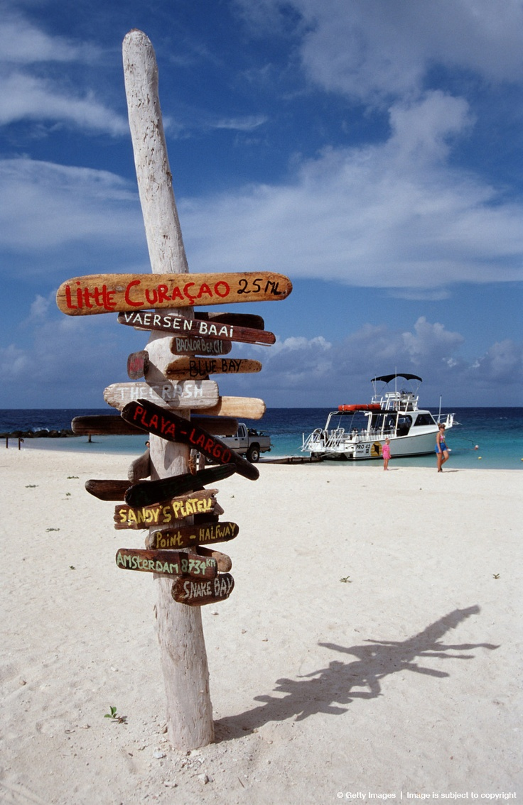 Het strand van Curacao - het leven is goed daar!
