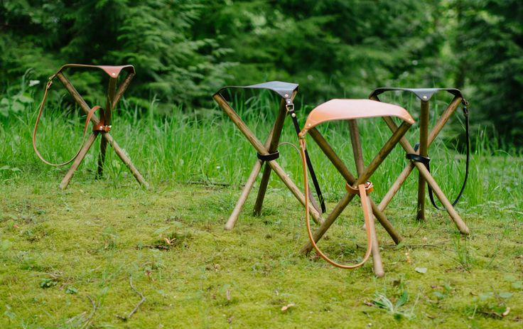 Here's just a check-in of recent things happening in the shop. Firstly, we're introducing brown stained Ash legs to the campstool options. The darker brown legs