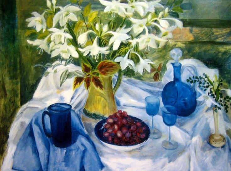 Eucharist Lilies, Margret OLLEY