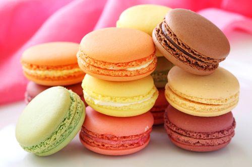 Kue Macaroon Warna Warni #macaroon #kue #resepmasakan #jajanan #food #pastry