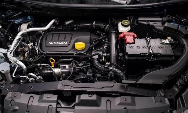 2018 Nissan Qashqai Engines