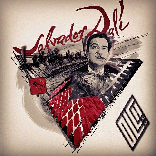 📣 Мой Кумир! Сальвадор Дали - величайший художник! Честь и хвала Гению!!! 👏 ✂ Эскиз свободный!🖌 ✔ ПРОДАМ СВОБОДНЫЙ ЭСКИЗ ✔ Сделано в фотошопе. #набросок #sketch #рисунок #Olcher #ОльЧер #фэнтези #art🎨  #art #tattoo #эскизтату  #tattoosketch #рисуюназаказ  #tattooolcher #татуольчер #тату #трешполька #trashpolka #trashpolkatattoo #photoshop #фотошоп #продам #sell #death #сальвадордали #дали #arttattoo #эскиз #эскизытатуировок #dali #salvadordali
