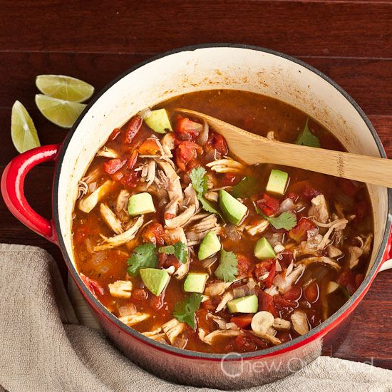 Easy Mexican Chicken Stew - The friends and family slurp this up.  This healthy stew comes together fast.