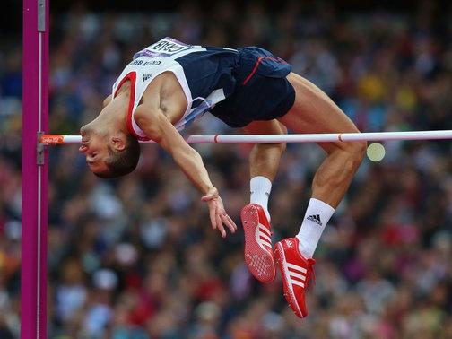 Robbie Grabarz: Won high jump bronze