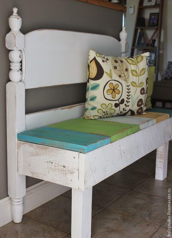 Купить Френч бенч - диван для прихожей - французская скамья, скамья для прихожей, скамейка, французский стиль