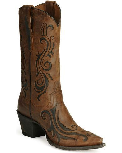 Dan Post Inlay Western Boots - Country Outfitter
