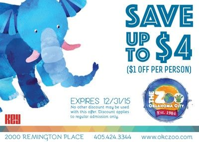 Oklahoma city zoo discount coupons